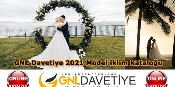 GNL Davetiye 2021 Model İklim Kataloğu